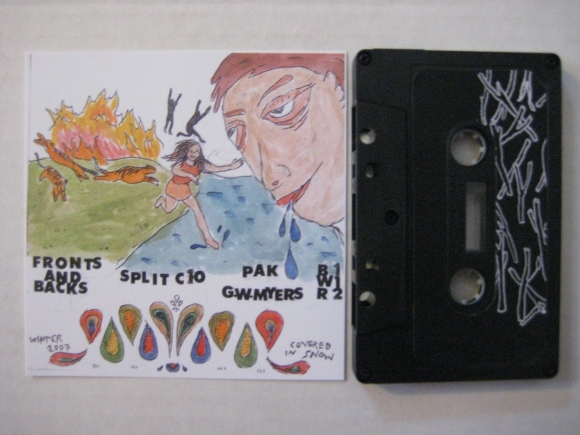 Split 10 minute tape G W Myers/Pak, Breaking World Records 2008